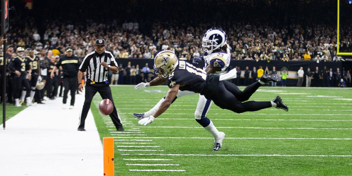 Report: Concern around the NFL that 4 officials from Southern California assigned to Saints-Rams game