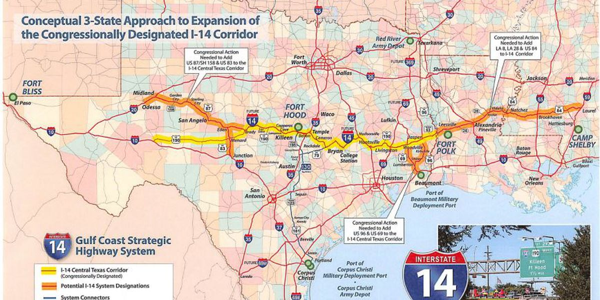Support grows for I-14 expansion in Mississippi
