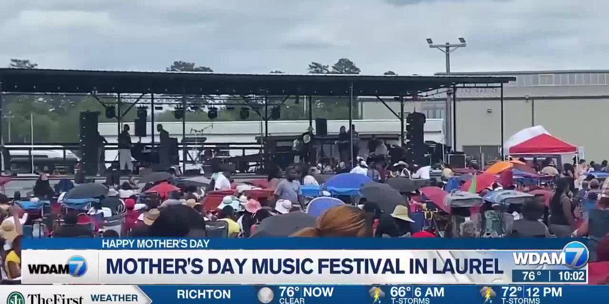 34th annual Mother's Day Blues Festival kicks off in Laurel