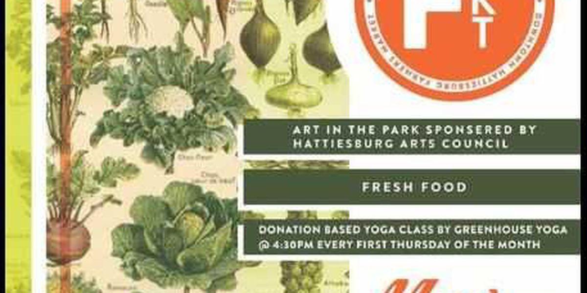 Hattiesburg Farmers Market returns
