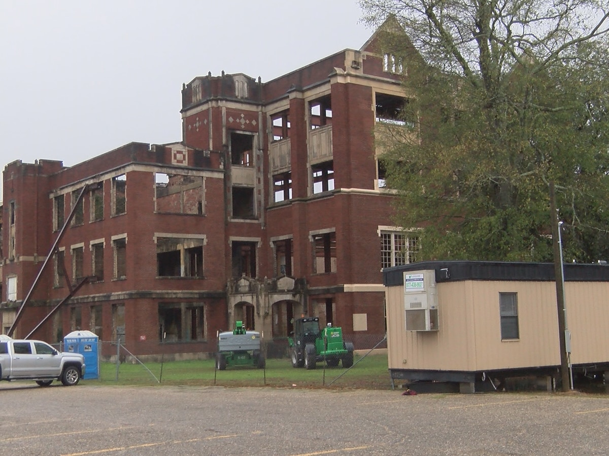 Redevelopment of old HHS to begin soon