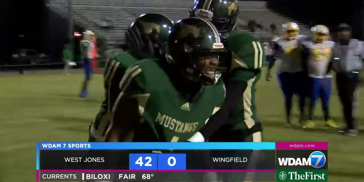 West Jones finishes off undefeated regular season