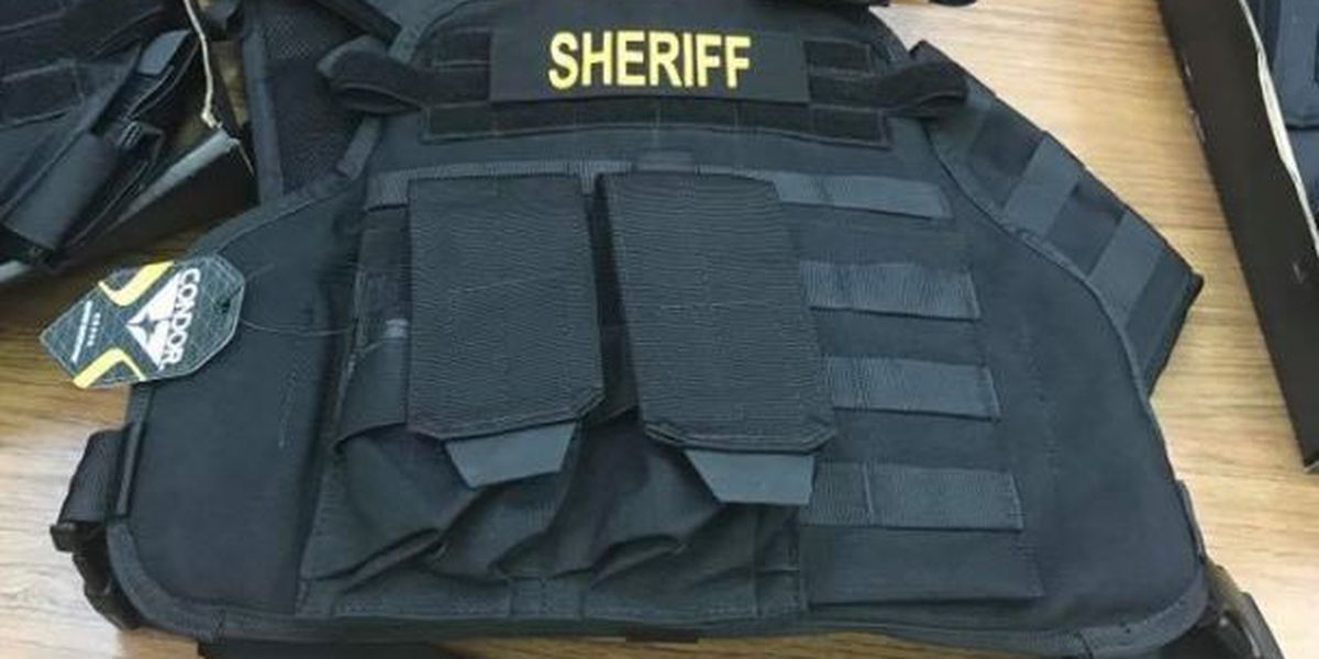 Jasper Co. law enforcement gifted bullet proof vests