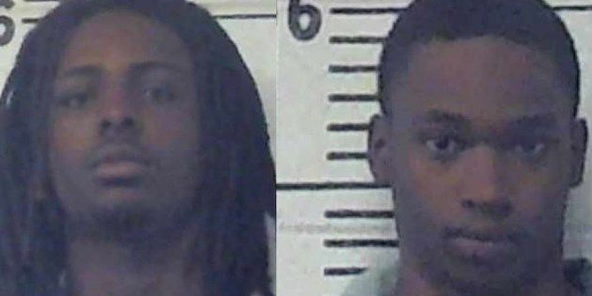 Two Laurel men charged with burglary