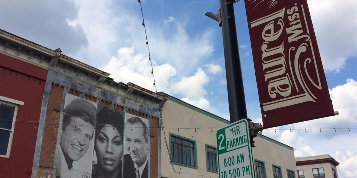 Laurel downtown lighting to be finished in time for Loblolly Fest