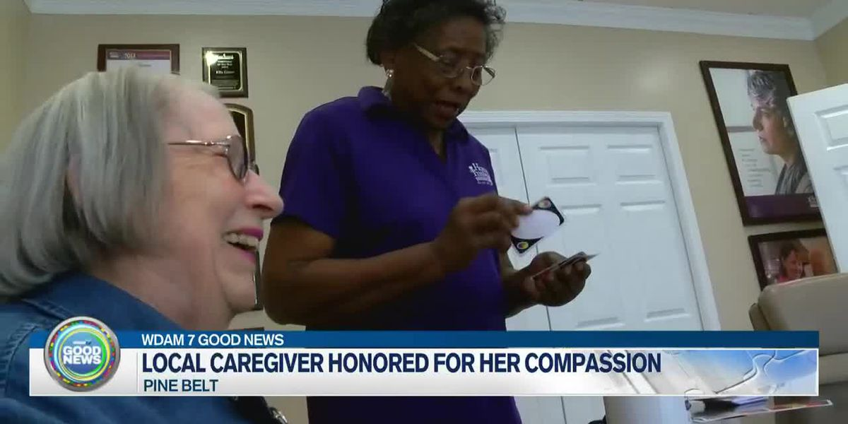 Local caregiver honored for her compassion
