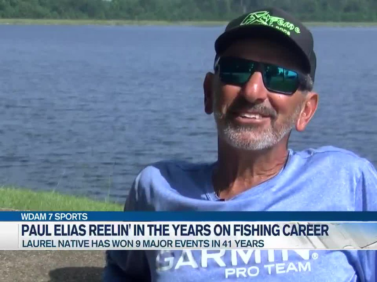 Laurel's Paul Elias reflects on long fishing career