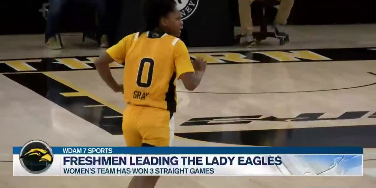 Freshmen lead the way for the Lady Eagles