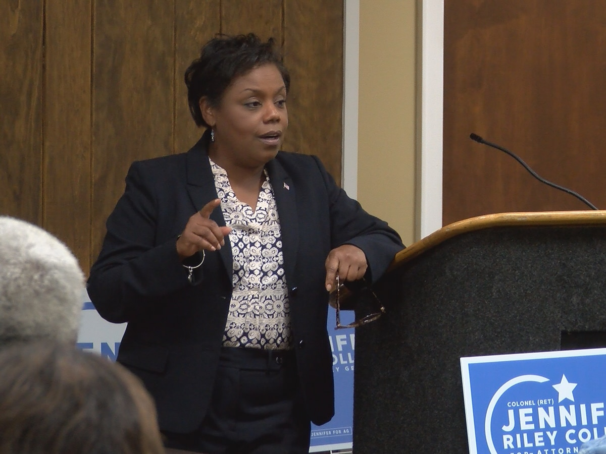 Attorney general candidate campaigns in Hattiesburg