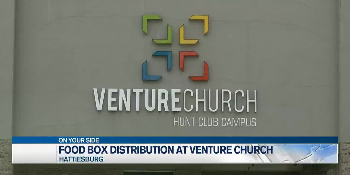 Venture Church to distribute free food boxes Saturday