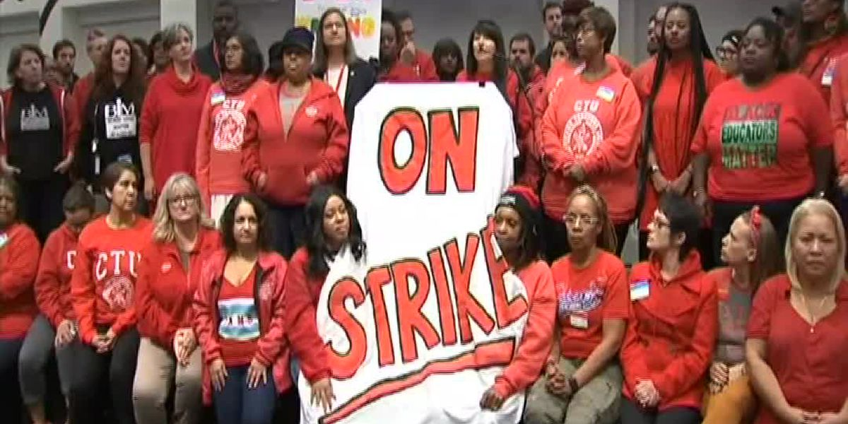Chicago teachers strike, say issue simple: 'It's the kids'