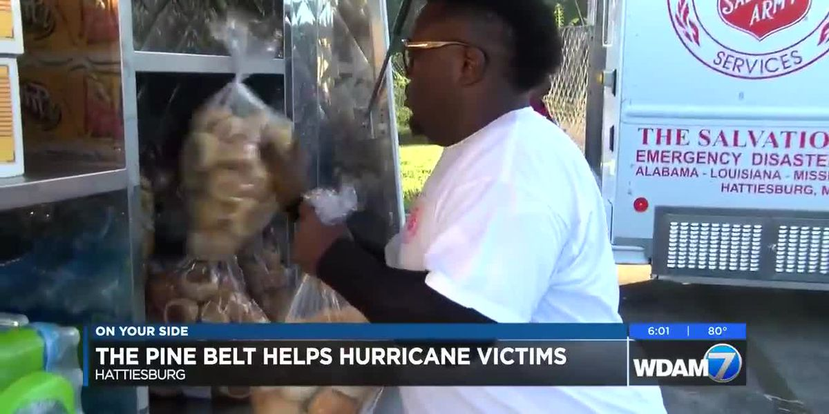 Salvation Army in Hattiesburg helping Michael victims