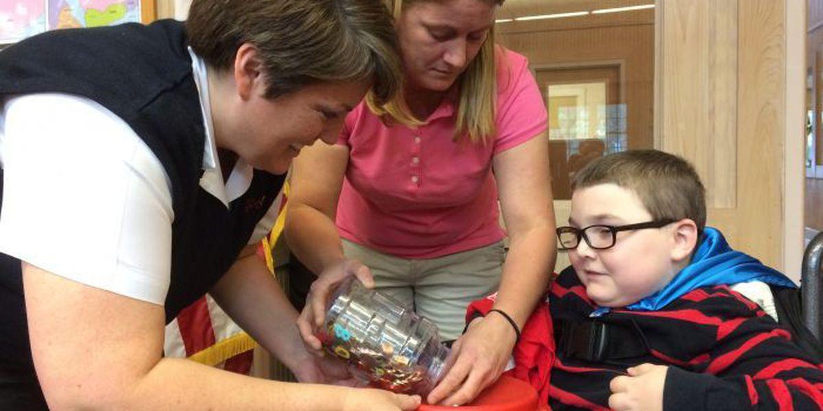 Jones County child donates savings to Salvation Army