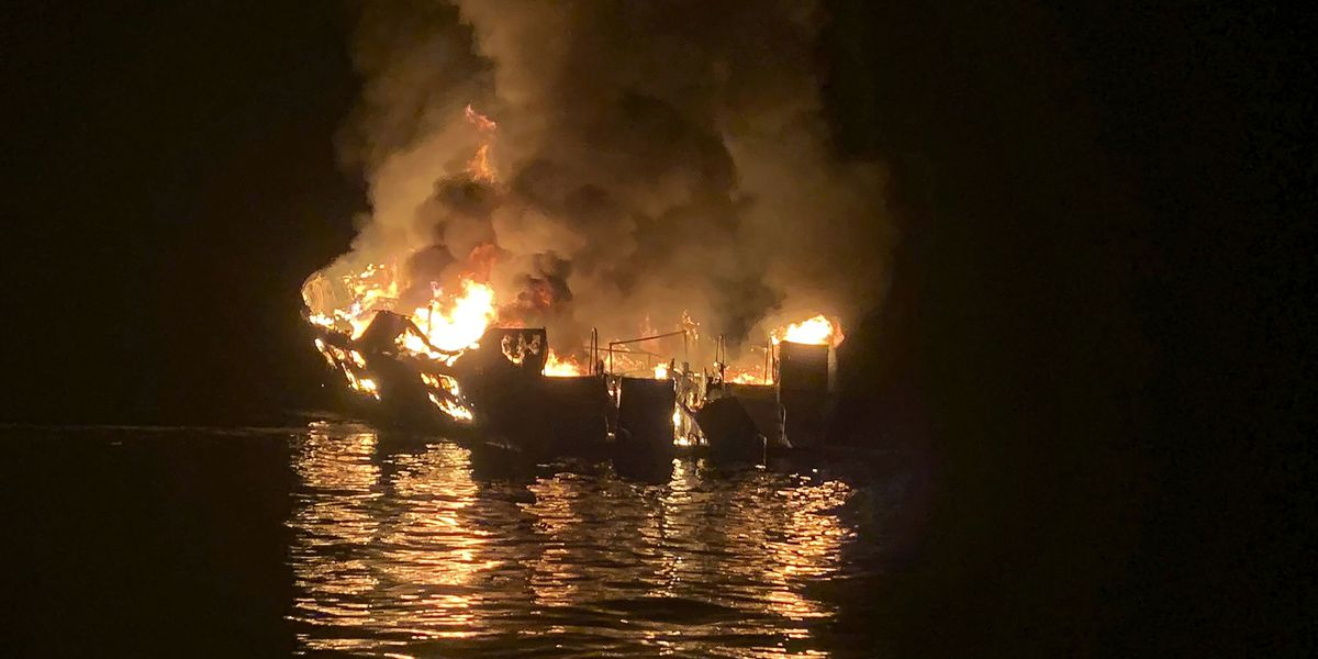Watchman could have saved lives in California boat fire, investigators say