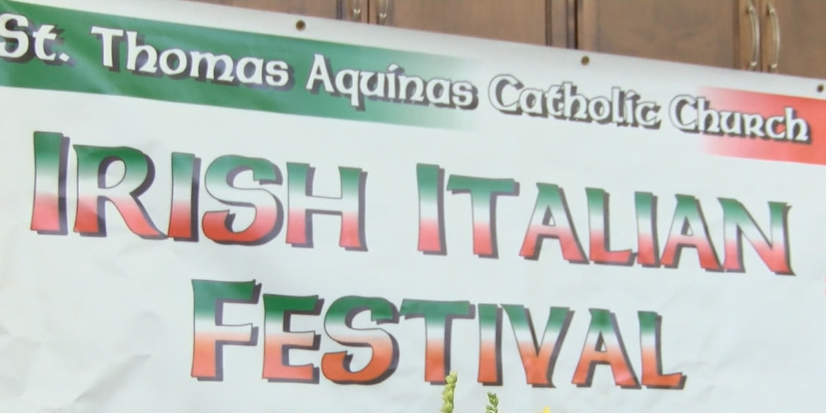 St. Thomas Aquinas Church's Irish-Italian Festival postponed
