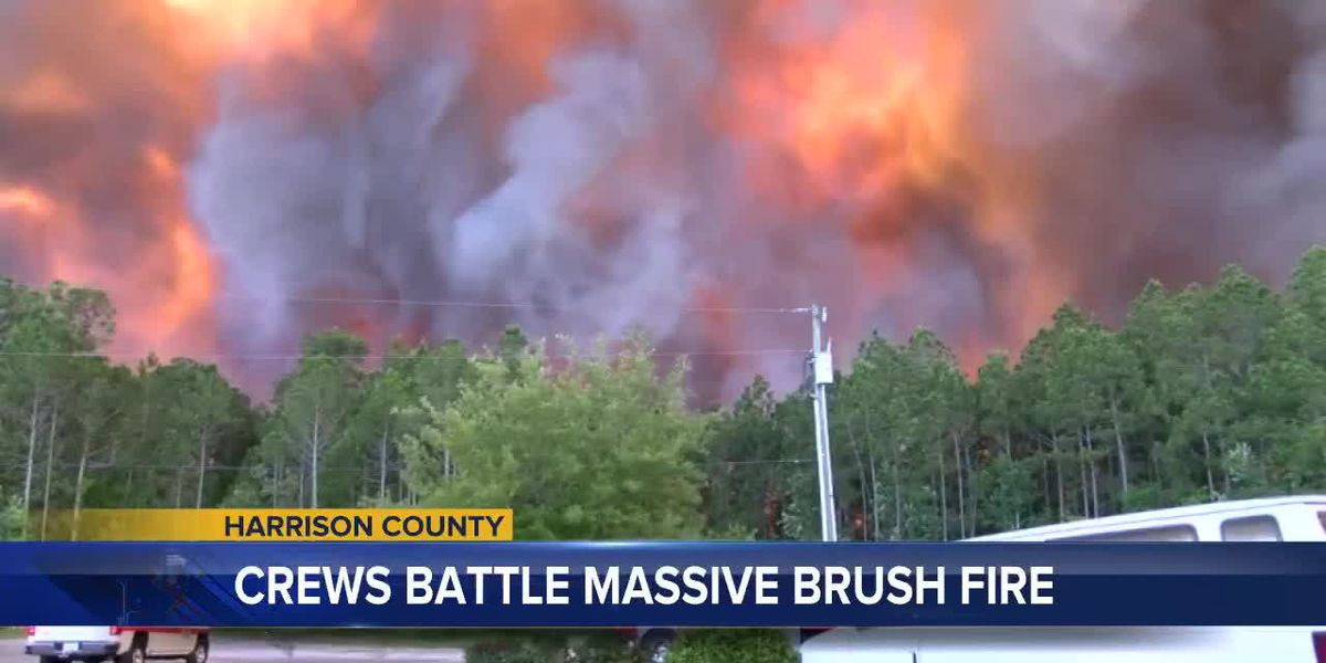 UPDATE: Harrison Co. fire is under control, allowing Canal Rd. to open back up