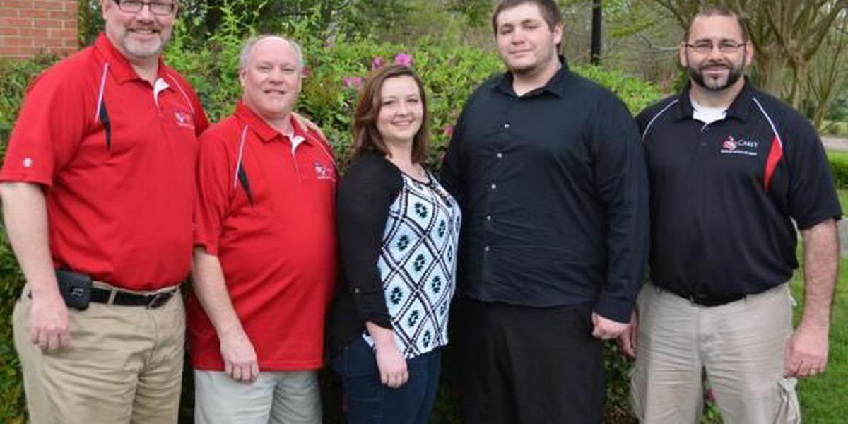 Crocker named first recipient of Carey Iler Scholarship