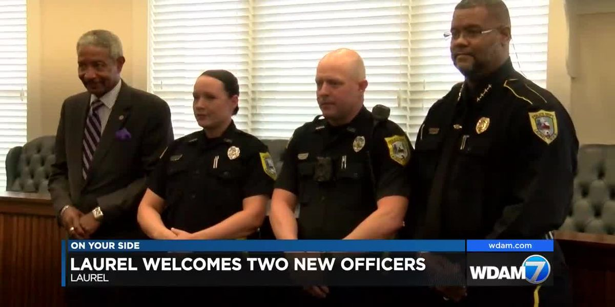 Laurel PD Welcomes two new officers