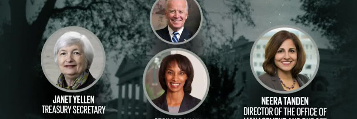 Biden announces economic team, receives President's Daily Brief