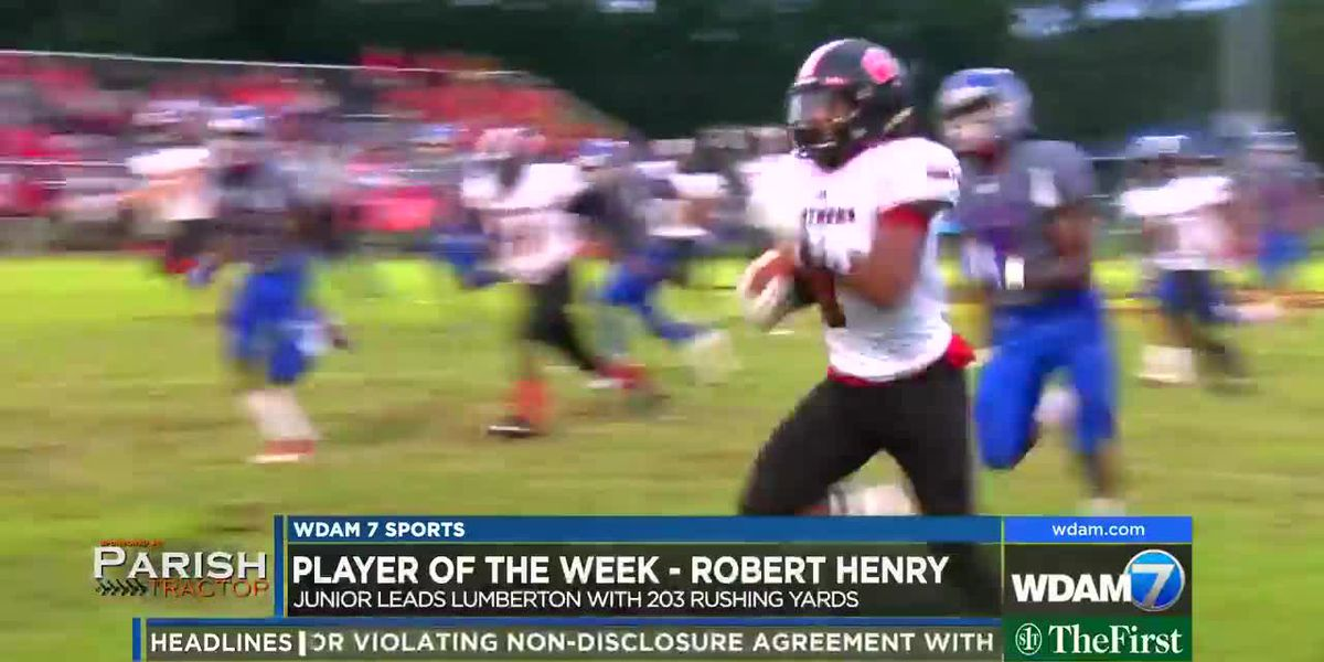 Player of the Week - Lumberton junior Robert Henry