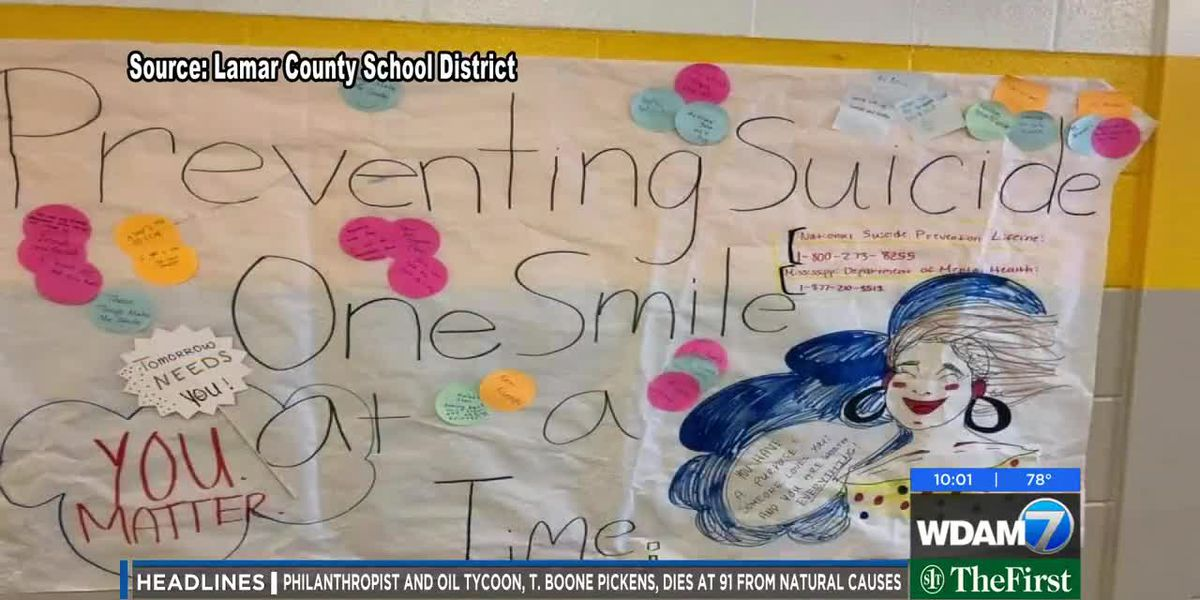 Lamar County School District brings awareness to suicide prevention