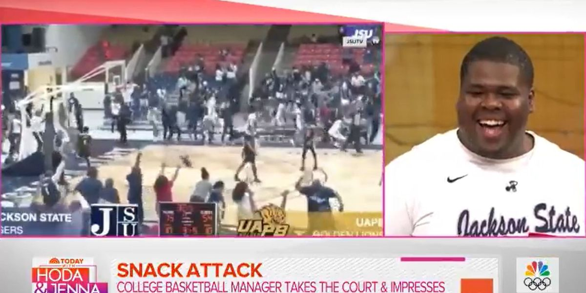 WATCH: JSU basketball sensation 'Snacks' shines on TODAY Show