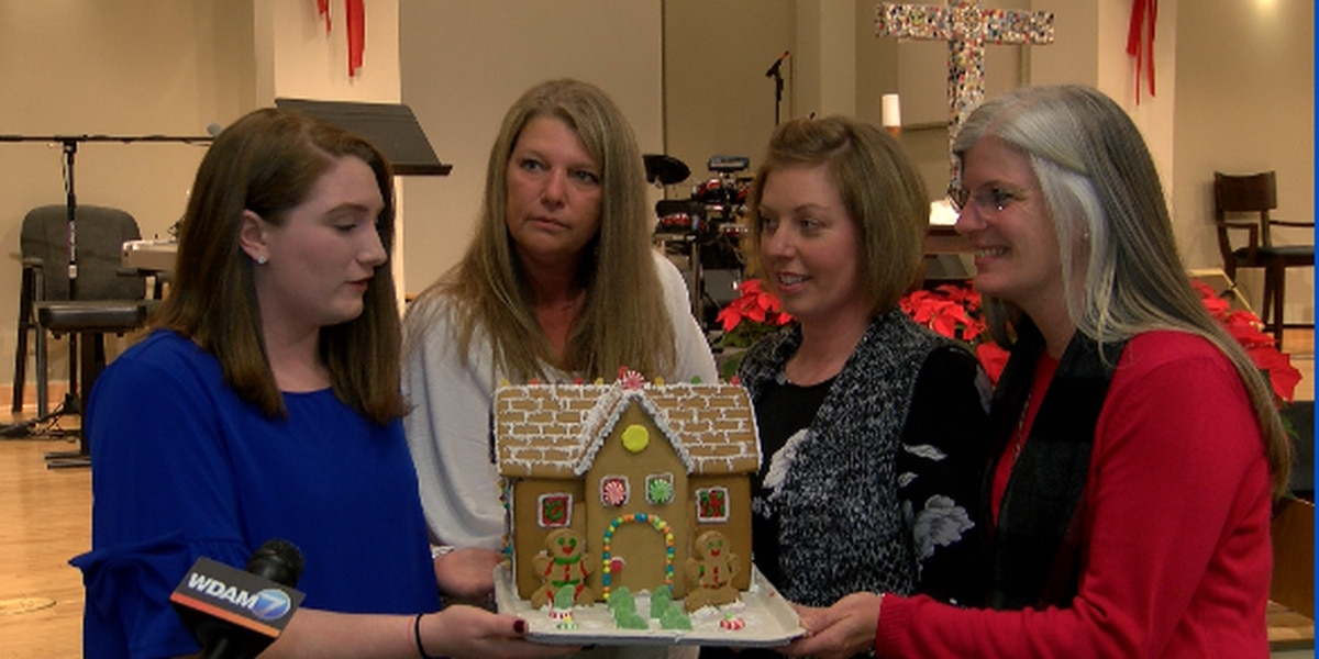 Gingerbread house competition held in Hattiesburg