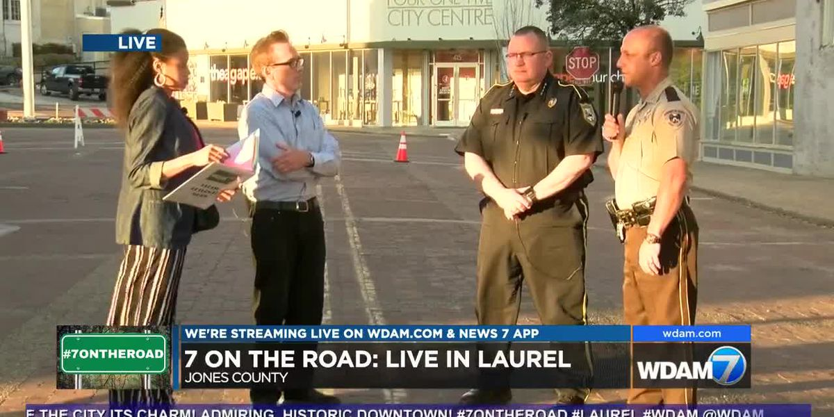 7 On the Road: Jones Co. Sheriff Alex Hodge & Laurel Police Chief Tommy Cox
