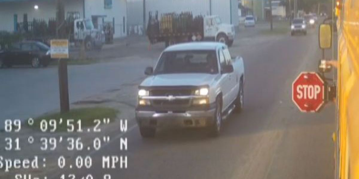 Jones County school bus cameras capture reckless drivers