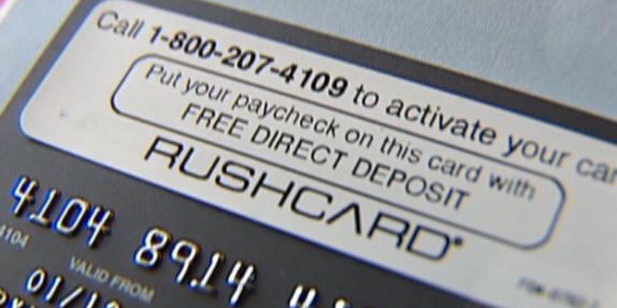 Pine Belt woman cannot access money on Rush Card