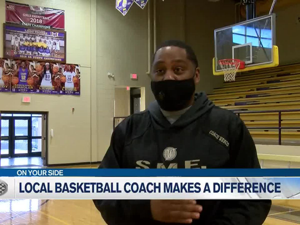 Hattiesburg basketball coach making difference in players' lives