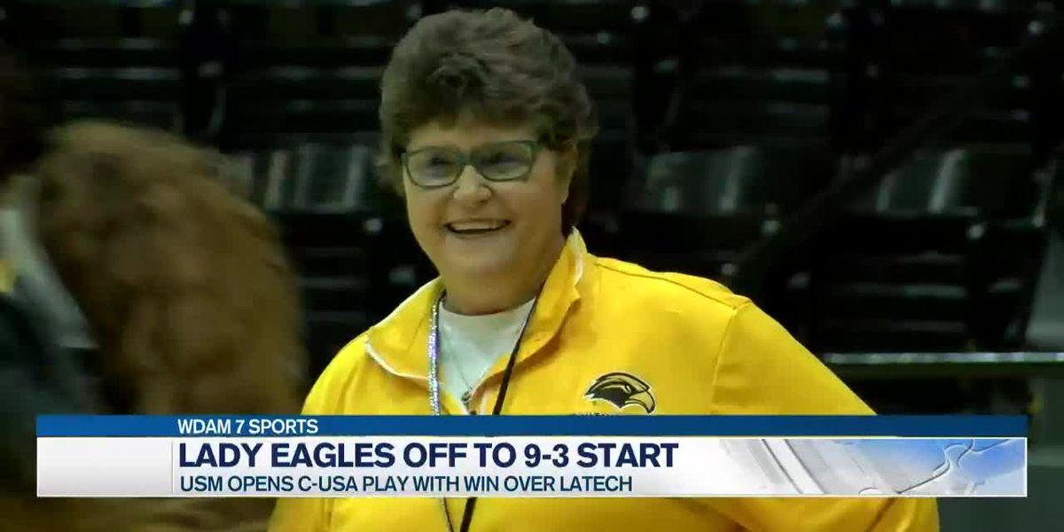 Lady Eagles take down Tech, 66-60, to open C-USA play