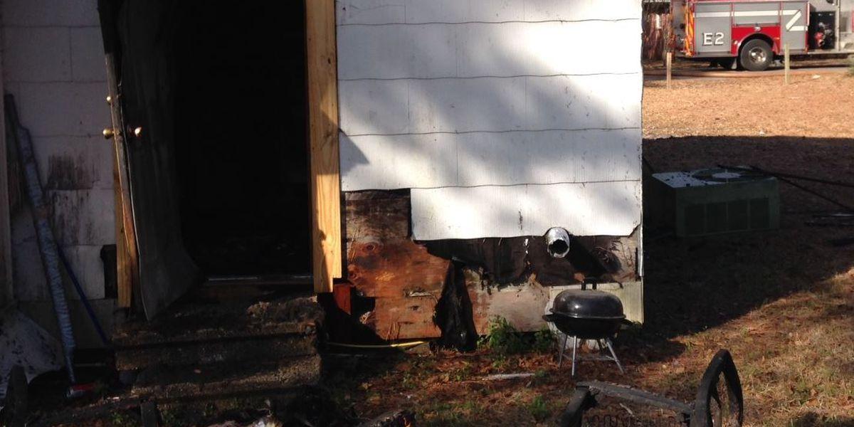 Rental home catches fire in Hattiesburg