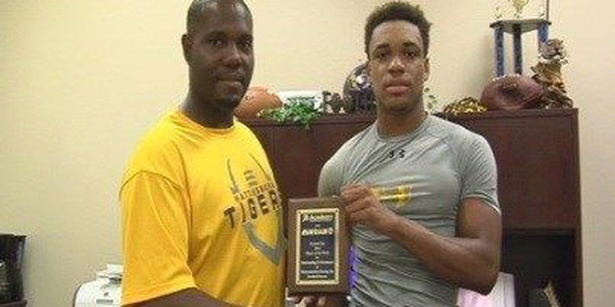 Hattiesburg's Conner named high school football player of the week