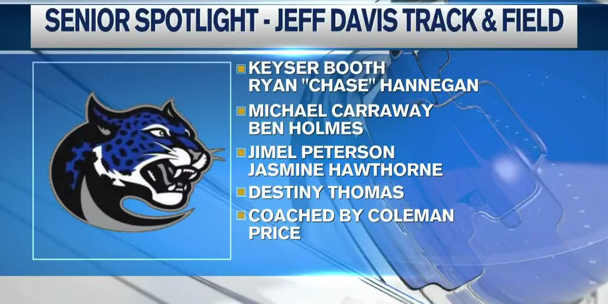 Senior Spotlight - Jefferson Davis Jaguars