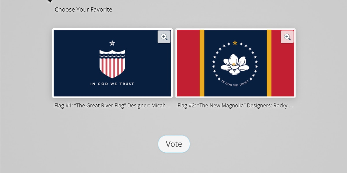 Only two remain, which flag will end up on the November ballot?