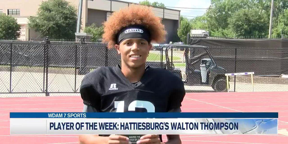 Hattiesburg's Thompson named WDAM 'Player of Week'