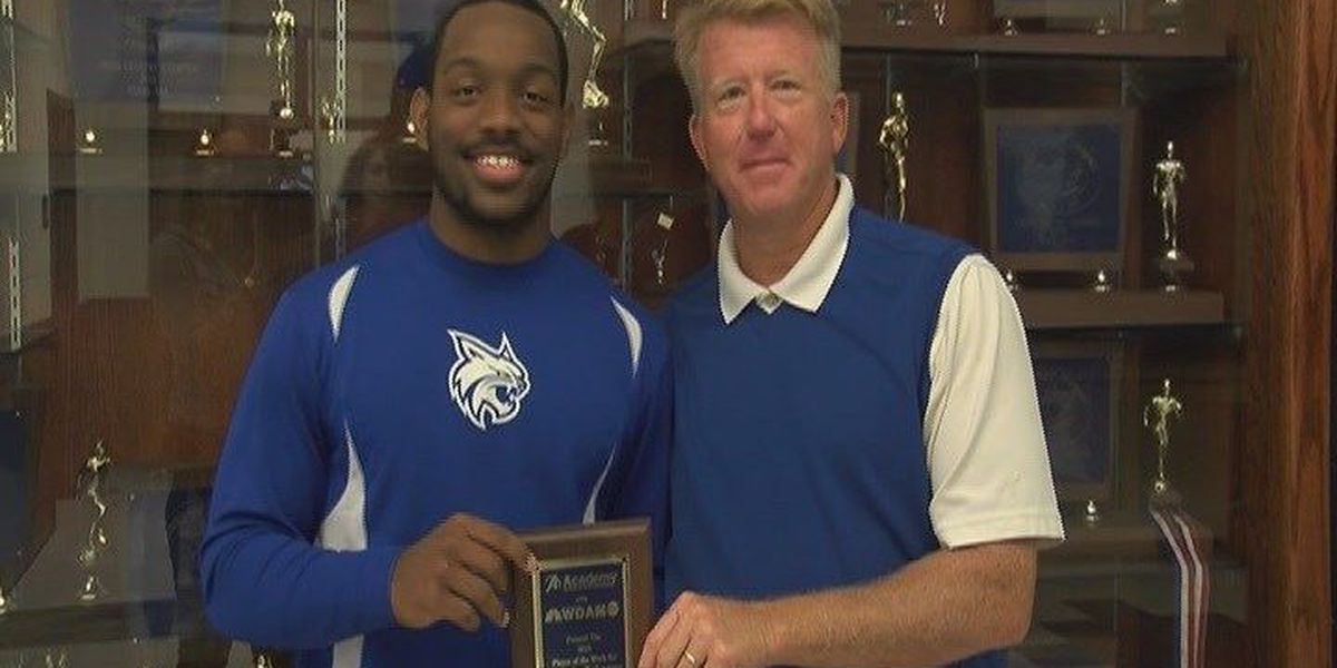 PCS's Isaiah Woullard Named Player of the Week