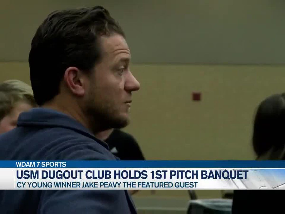 Jake Peavy speaks at USM First Pitch Banquet