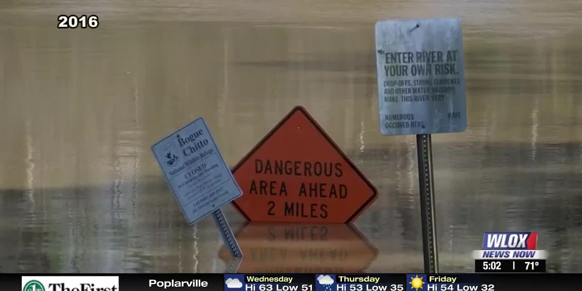 Pearl River County residents keep close eye on river