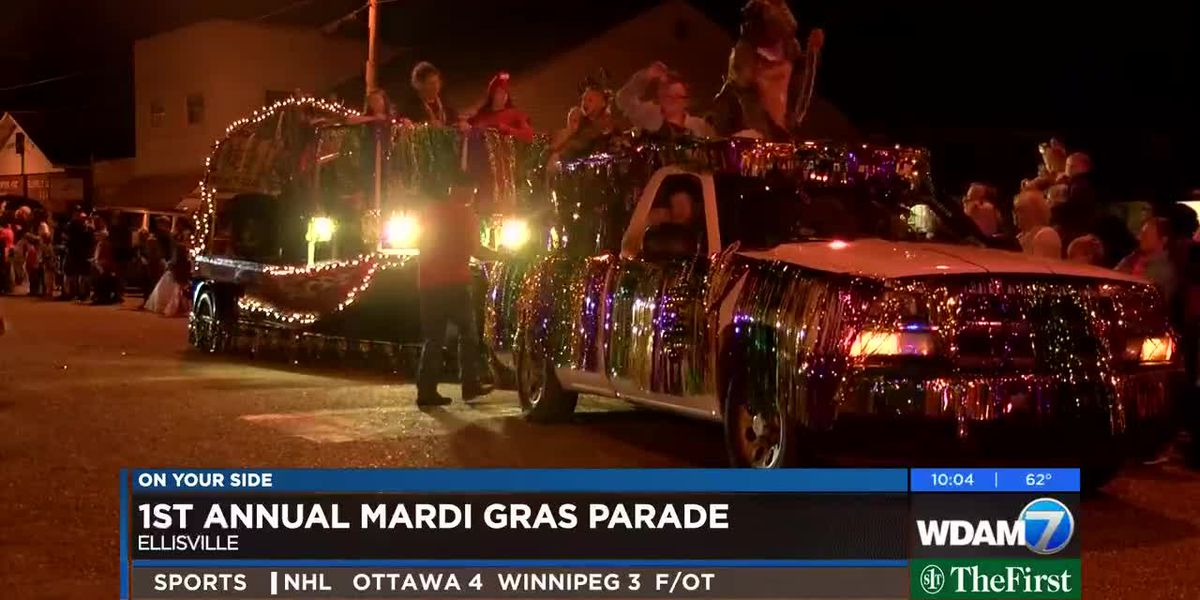 Ellisville puts on first ever Mardi Gras parade