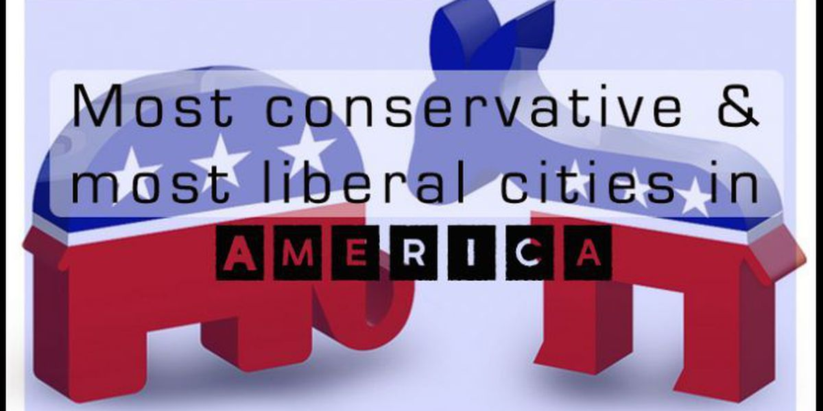 SLIDESHOW: Most conservative and liberal cities in America