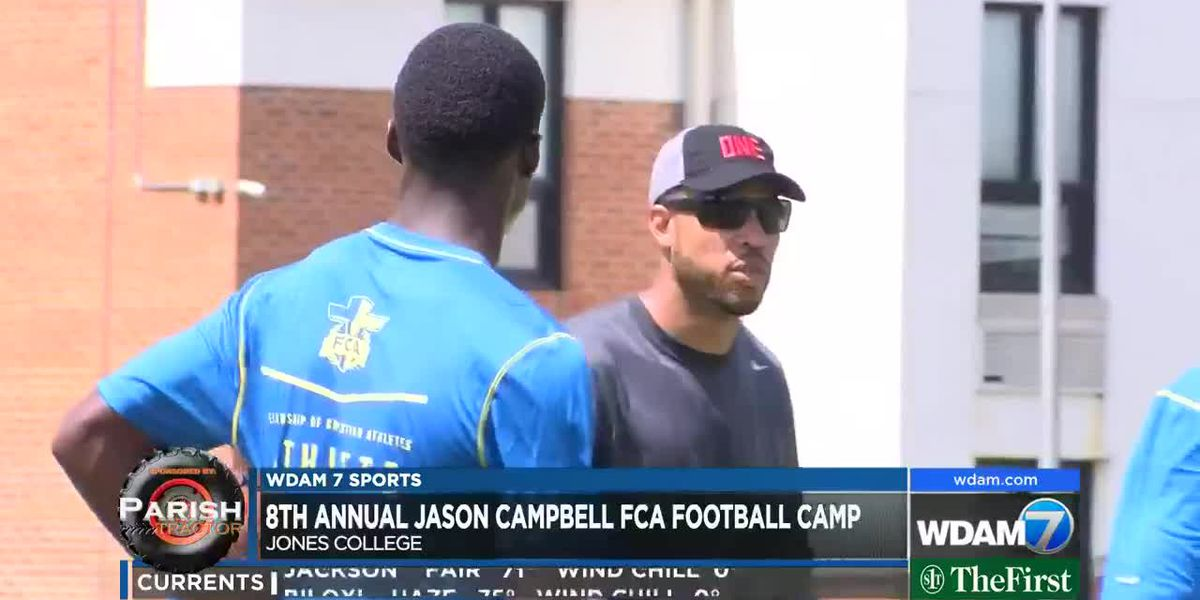 Jason Campbell holds 8th annual FCA Football Camp
