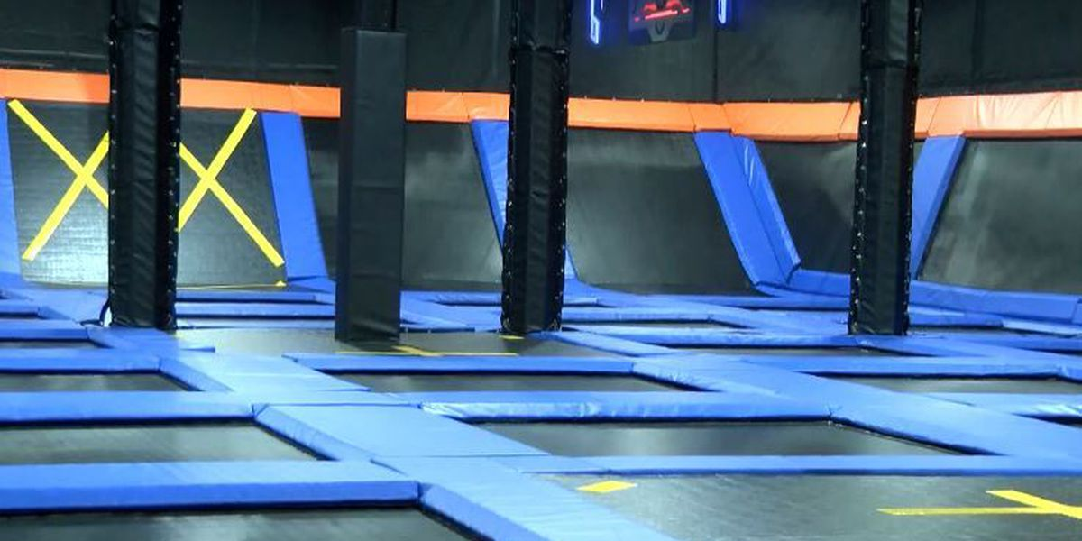 Hattiesburg trampoline park offers fitness courses
