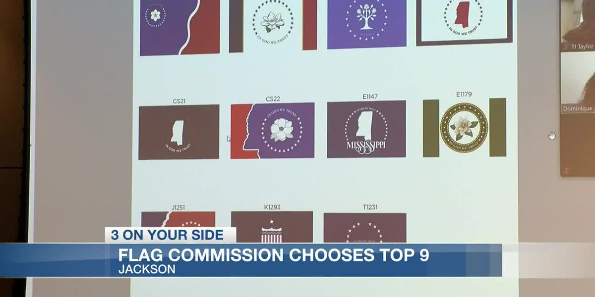 Flag Commission selects 9 designs to advance to the next round of consideration