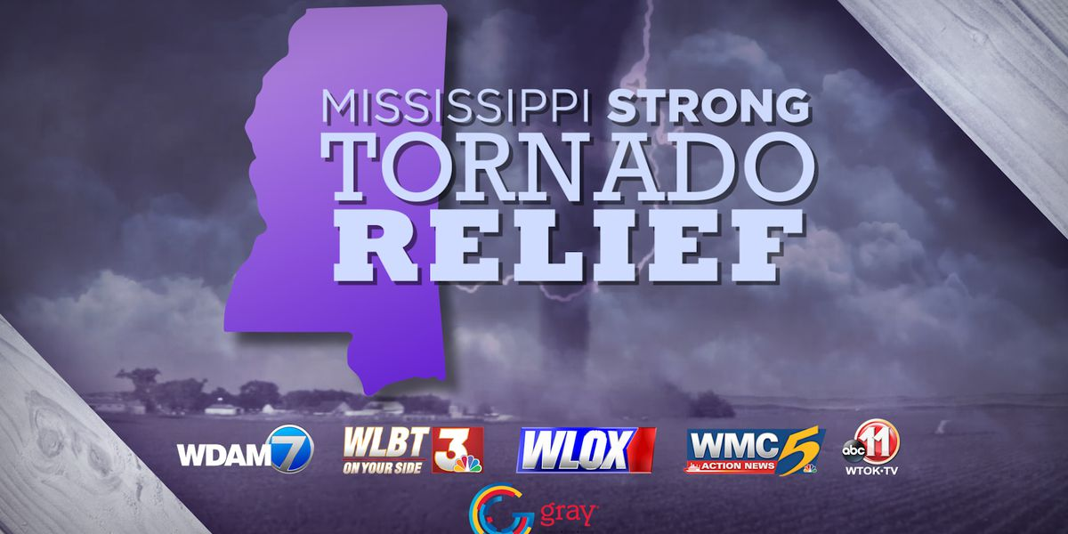 Mississippi Strong: WDAM, Red Cross team up for tornado relief fundraiser