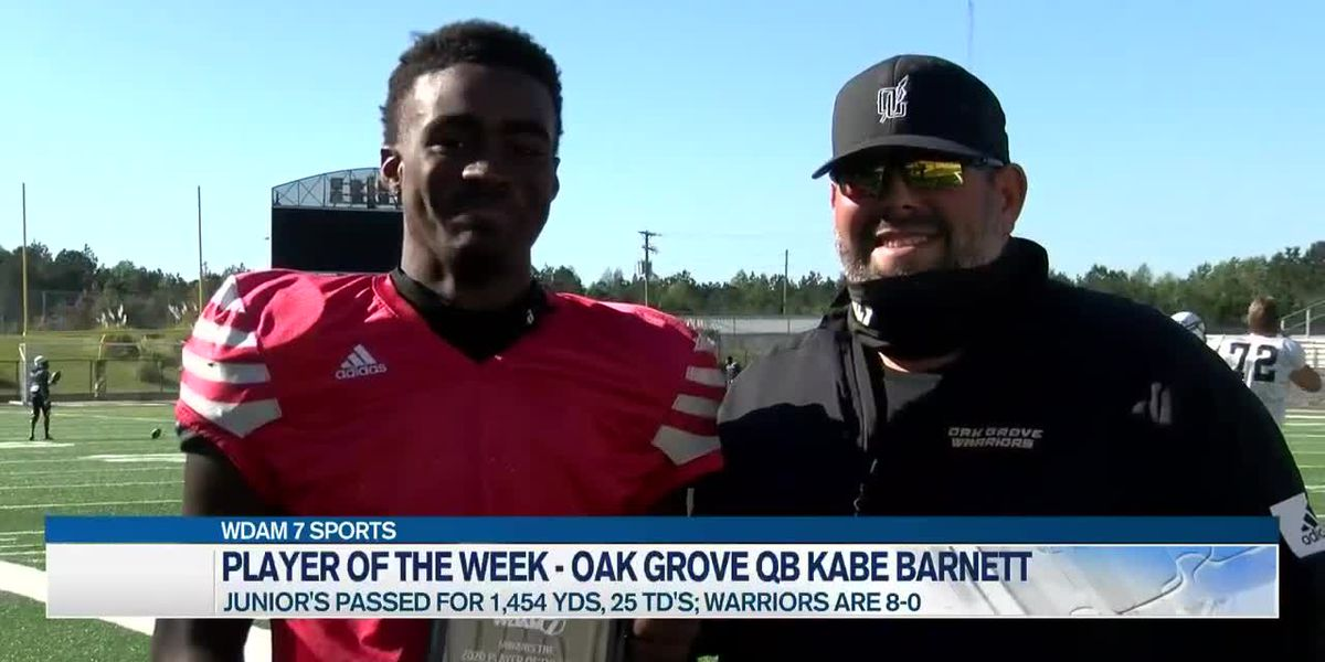 Player of the Week - Kabe Barnett next in line at Oak Grove