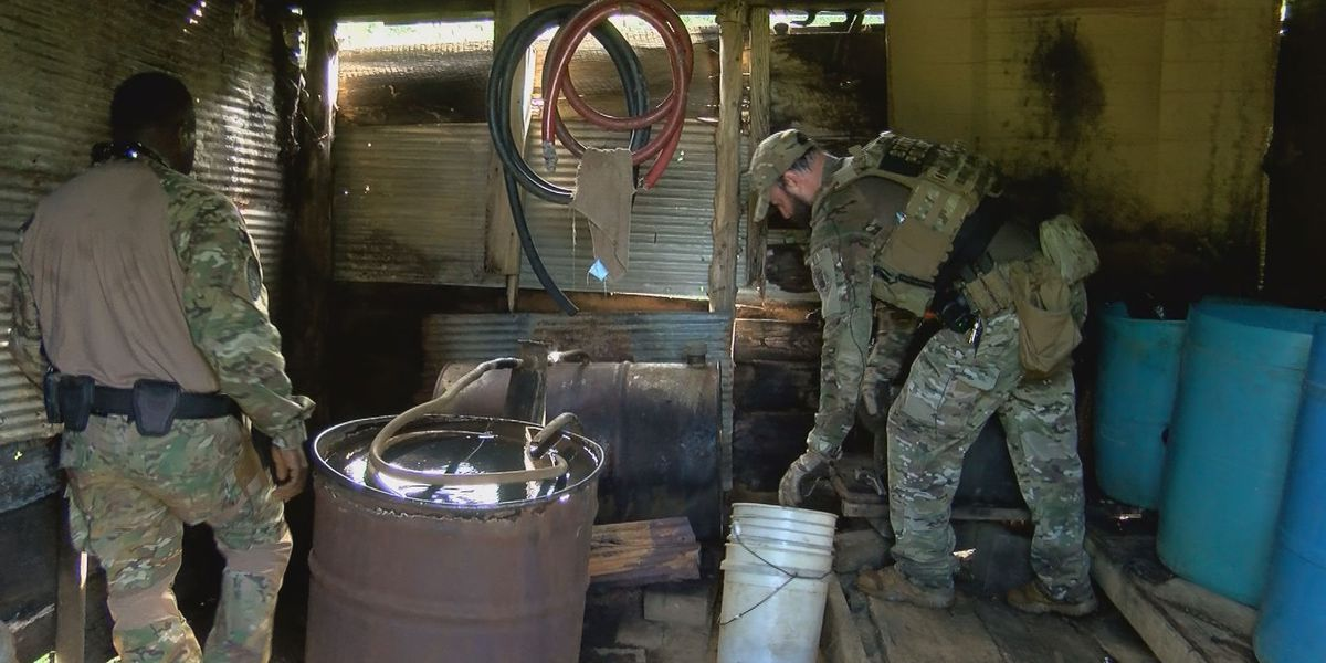 Carroll Co. man busted for making moonshine... again