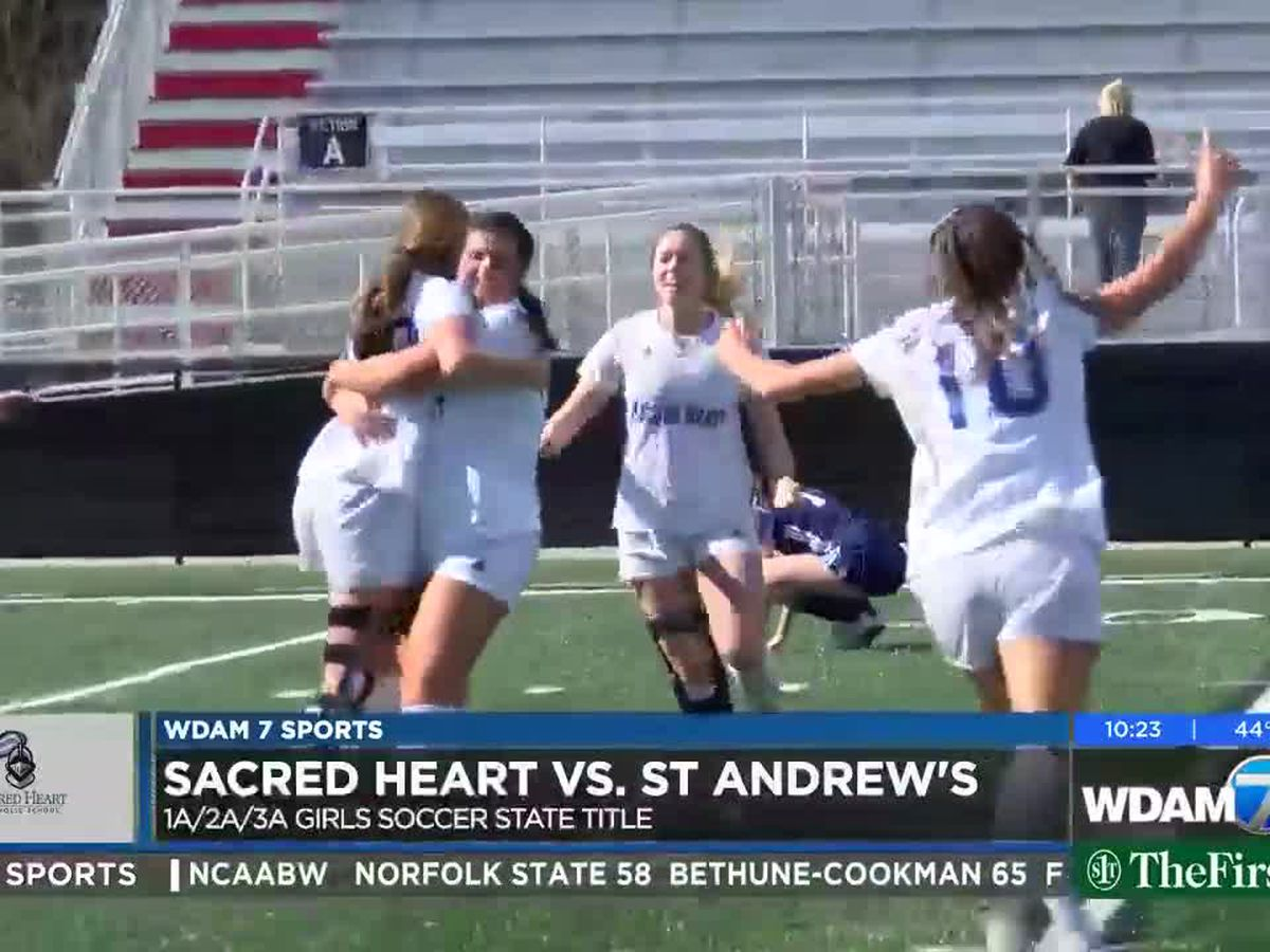Sacred Heart girls, boys soccer teams capture state titles
