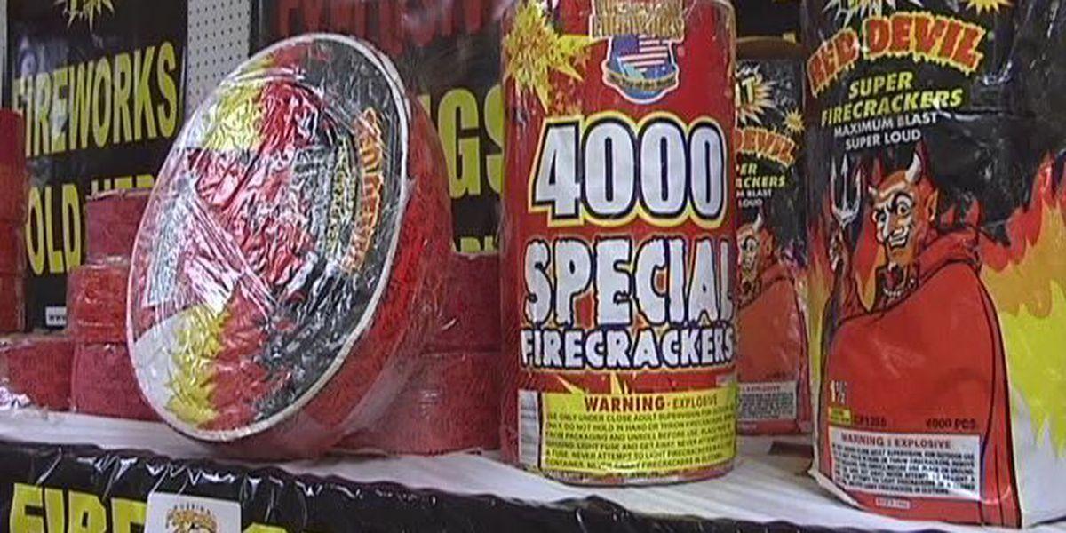 Fireworks restricted in city of Hattiesburg